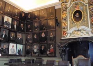 Senaatkamer Academiegebouw Leiden