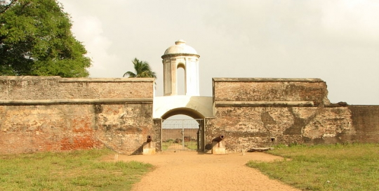 Fort Sadras India
