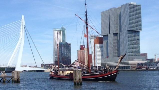 Zeilschip Helena, Vaartocht Rotterdam