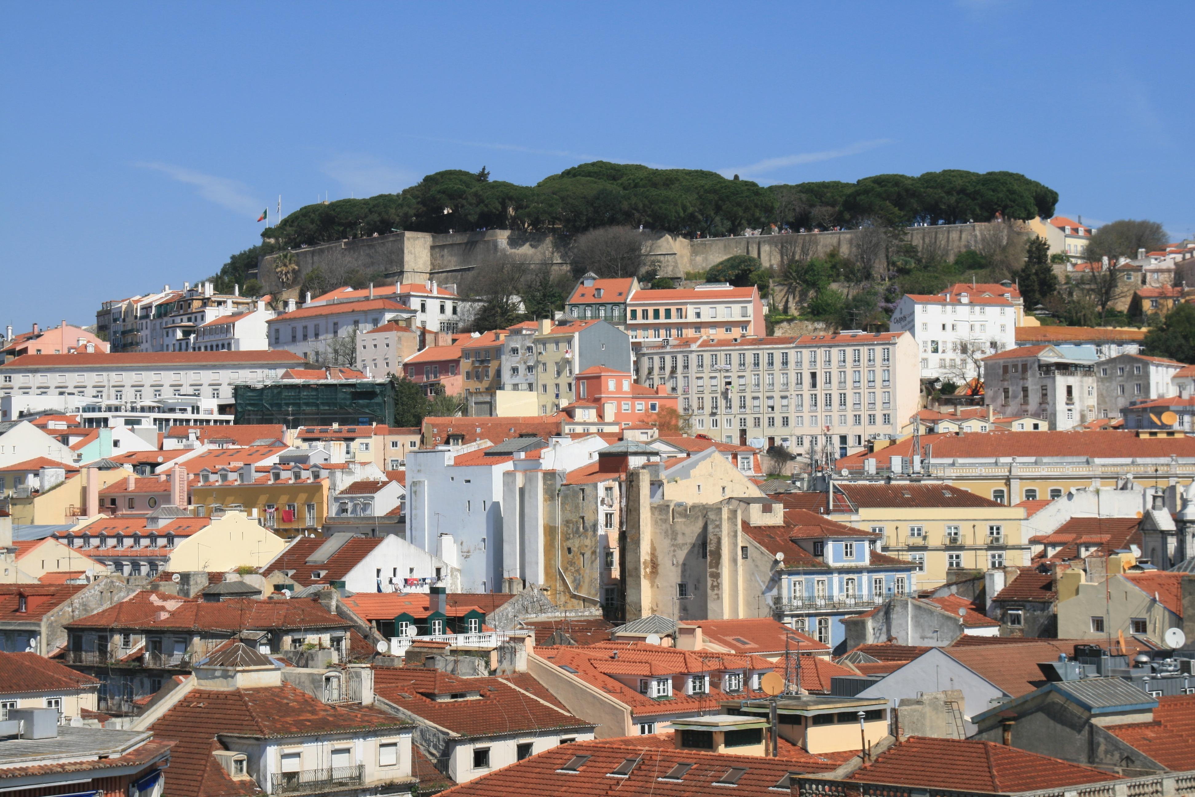 Zicht op Lissabon