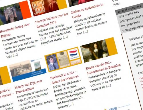 Geef voor Moederdag 60 lezingen over historische onderwerpen cadeau